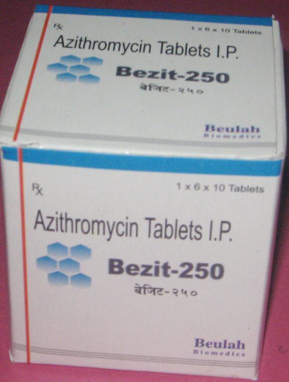 Texnika azithromycin